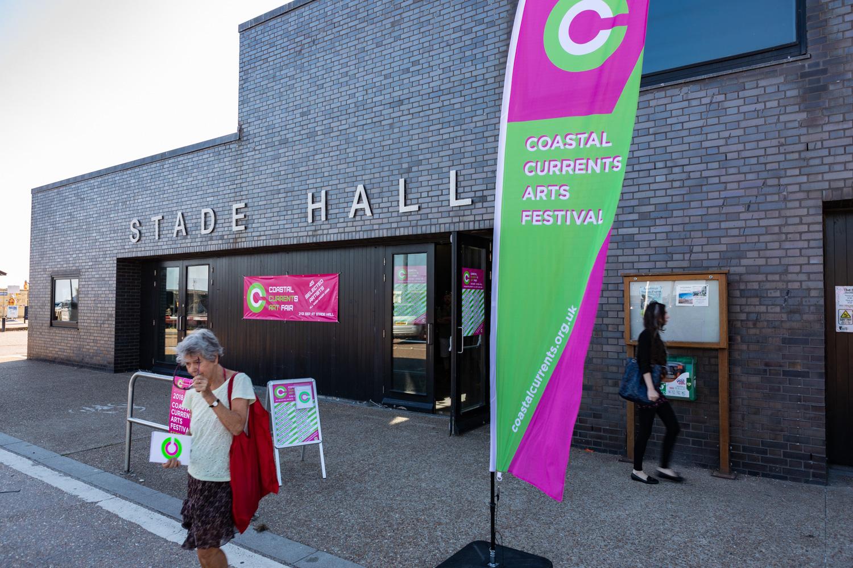 Coastal Currents Arts Festival 2018, Hastings UK. 02/09/18.